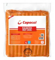 Salsicha Hot Dog 3 Kg