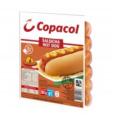 Salsicha Hot Dog Resfriada 500g