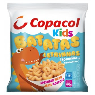 Batata Letrinhas Kids Congelada 400g