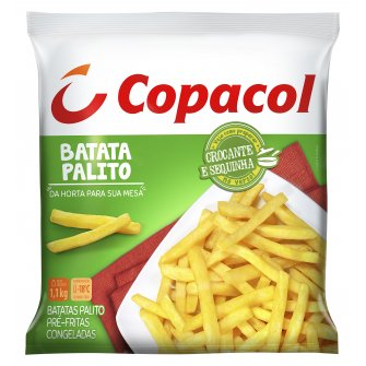 Batata Palito Pré-Frita Congelada 1,1 Kg