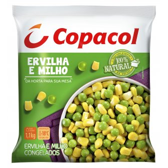 Ervilha e Milho Congelados 1,1 Kg