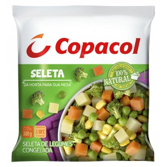 Seleta de Legumes Congelada 300g