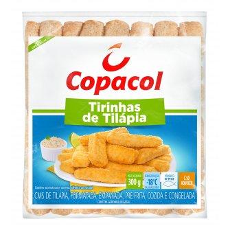 Tirinhas de Tilápia Empanadas 300 g