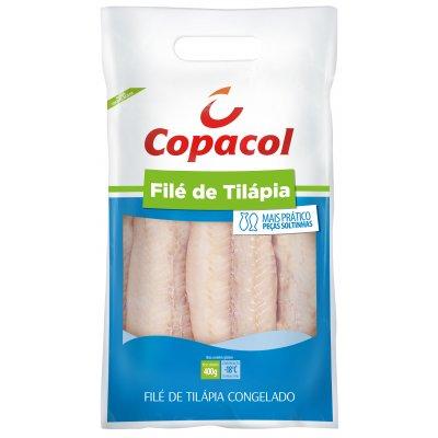 Filé de Tilápia Congelado 400 g
