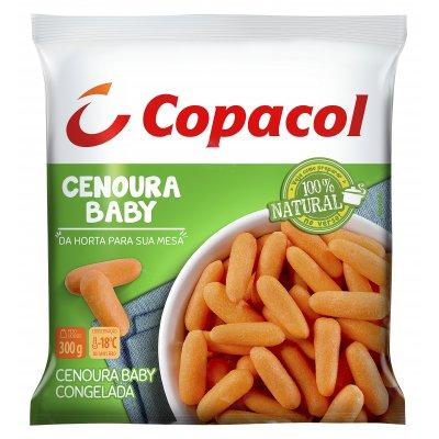 Cenoura Baby Congelada 300g