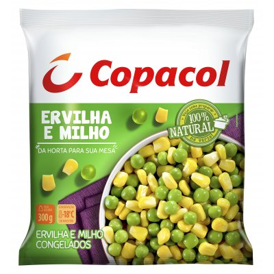 Ervilha e Milho Congelados  300g