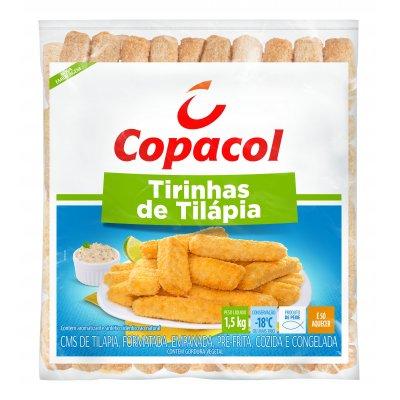 Tirinhas de Tilápia Empanadas 1,5 Kg